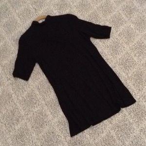 Asos Turtleneck Mock neck Tee Shirt Dress Tunic